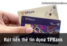 rut tien mat tu the tin dung tpbank