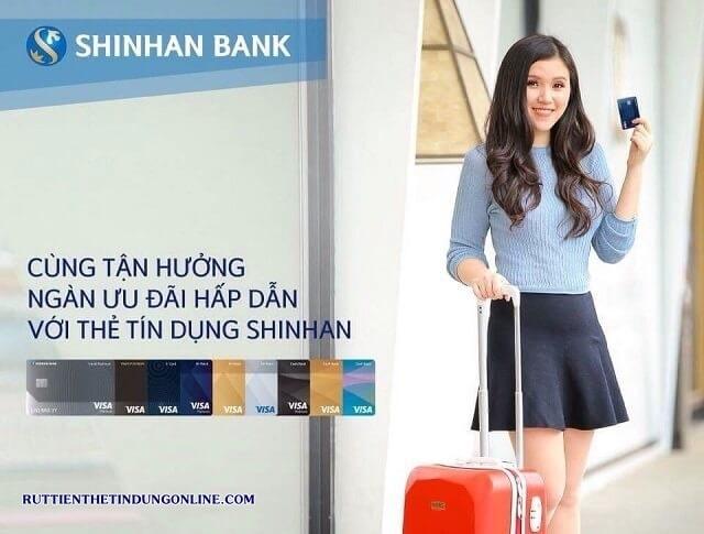 thanh toan du no the tin dung shinhan bank