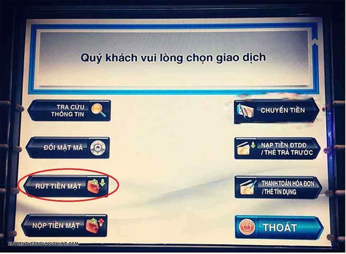 the tin dung scb co rut tien mat duoc khong