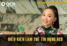 dieu kien lam the tin dung ocb