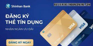 co nen mo the tin dung shinhan bank