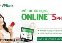 Lam the tin dung vpbank mat bao lau