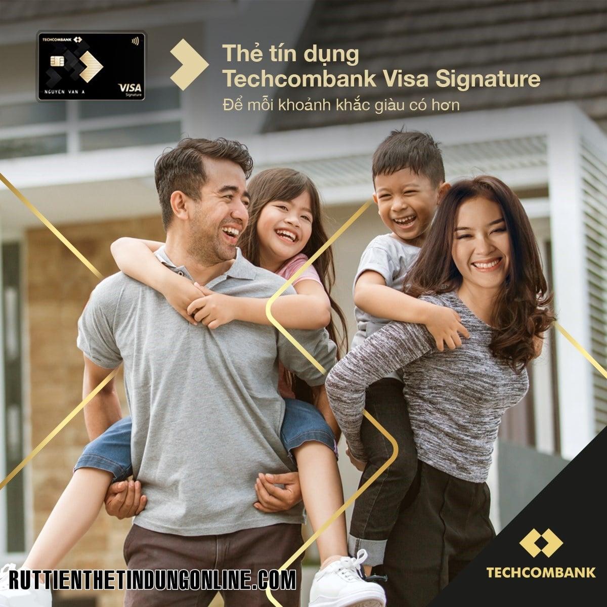 Lam the tin dung techcombank mat bao lau