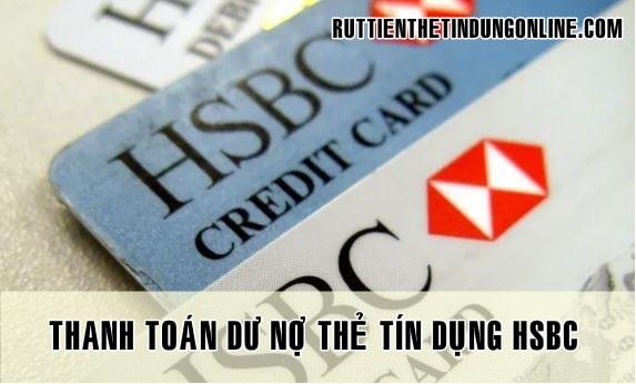 Thanh toan du no the tin dung hsbc