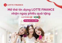 Dieu kien mo the tin dung Lotte Finance