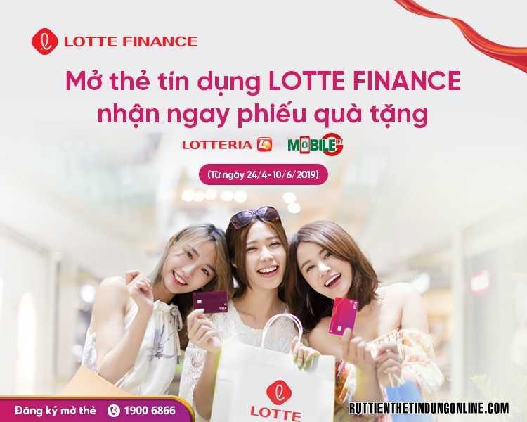 Dieu kien mo the tin dung Lotte Finance