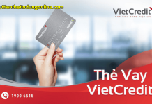 Dieu kien lam the vay vietcredit