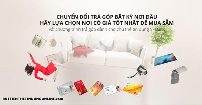 Phi chuyen doi tra gop vpbank