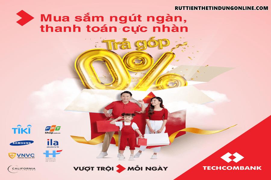 Cach tinh tra gop the tin dung techcombank
