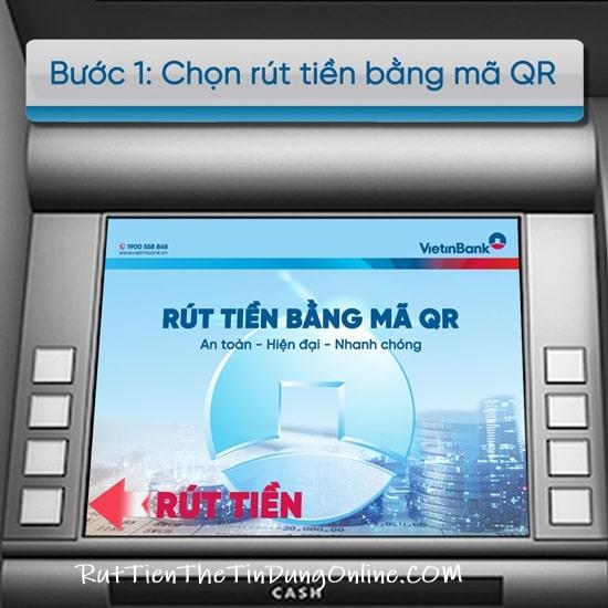 Cách rút tiền Vietinbank không cần thẻ