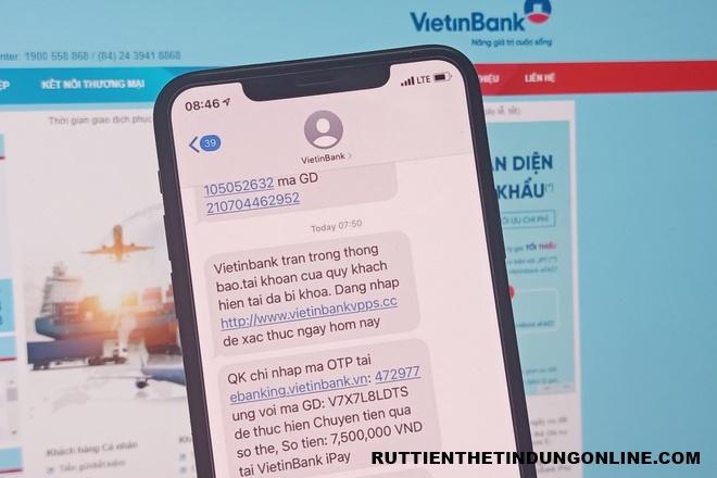 Vietinbank trừ tiền vô lý