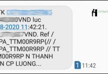 Đăng ký sms banking vietcombank