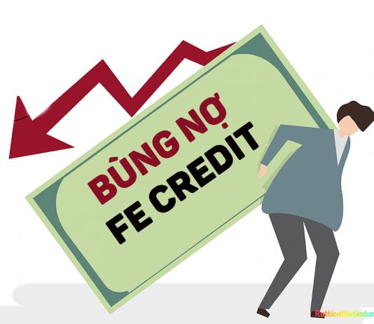 Vay tiền Fe Credit không trả có sao không